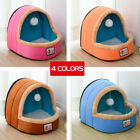 Qulity Pet Dog Cat Tent House Dirt-resistant Soft Yurt Bed with Washable Cushion