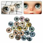 20Pcs Glass Doll Eyes Animal DIY Crafts Eyeballs Jewelry Handmade 8mm/12mm/18mm