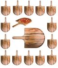 "NFL Wooden Paddle Style Pizza Peel 22.3"" x 13.8"" - Select Team $49.95 USD on eBay"