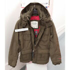 ABERCROMBIE & FITCH MENS ALL-SEASON WEATHER WARRIOR PARKA JACKET SIZE M,L