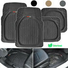 Motor Trend Max Tough Car Rubber Floor Mats Set All Weather Interior Protection on eBay