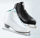 New Riedell Opal white Ice skates ,figure skates ,youth/child black or white