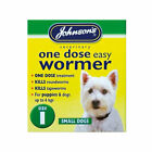Johnson's One Dose Wormer Puppy Dog Roundworm Tapeworm Worming Tablets All Sizes