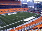 (2) Steelers vs Browns Tickets Upper Level Sidelines Under Cover Section 529!!