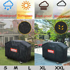 S/ M/ L/ XL BBQ Cover Waterproof Barbecue Covers Garden Patio Grill Protector US