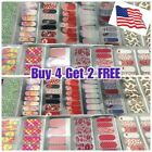 Color Nail Polish Strips Stickers $3 BUY 3 GET 1 FREE $3.0 USD on eBay
