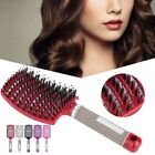 Professional Hair Styling Scalp Massage Comb Curved Hair Brush Hairdressing Comb