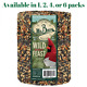 Mr. Bird Wild Bird Feast Birdseed Large Cylinder 4 lbs. (1, 2, 4, or 6 Pack) photo