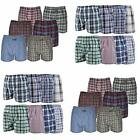 3 Pack of Plaid Boxer Shorts Mens 3 Pairs of Underwear Large, XL, XXL New