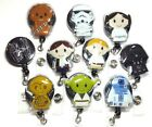 Star Wars Badge Reel - Light Weight Retractable ID Holder -RN Nurse Badge $6.99 USD on eBay