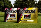 New Srixon Z Star Tour & Tour XV White Yellow Golf Balls - (2 / 4 / 6 Dozens)
