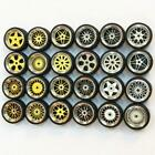 HOT 1/64 Scale Alloy Wheels Custom Hot Wheels, Matchbox,Tomy, Rubber Tires 10g