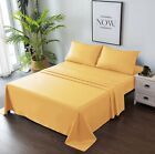 Goza Bedding 3/4 Piece Microfiber Bed Sheet Set image