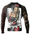Raven Fightwear Men's The Harlequin BJJ MMA Rash Guard