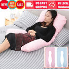 U-shaped Total Body Pillow Pregnancy Maternity Comfort Support Cushion Sleep NEW