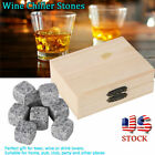 Whisky Wine Chilling Stones for Home Bar Chiller Stones Wooden Box US Stock