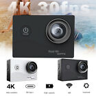 Q6H Ultra HD 4K Action Camera 2'' TFFT Touch Screen USB IMX386 WIFI Waterproof