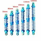 70mm-120mm Oil Metal Shock Absorber for 1/10 RC Crawler Axial SCX10 TRX4 D90