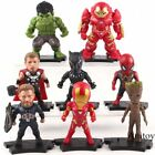 Figure Toys Avengers Marvel Action Figures Iron Man Thanos Captain America Hulk