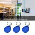 100 Pcs Blue Keychains RFID Proximity ID IC Card Key Access Control System Kit