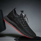 Outdoor Men's Breathable monolayer mesh Shoes knit Sports running Athletic Shoes