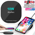 Qi Wireless Charger Mat Fast Charging Pad For iPhone X XR XMAX 8 Samsung S10 S9+