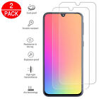 For Samsung Galaxy A40 A50 Full Coverage Tempered Glass Screen Protector Clear <br/> 2 Pack✅Full Cover✅Ultra HD✅Bubble Free Installation✅