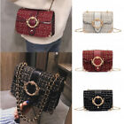 Women Fashion Handbag Shoulder Bag Lady Chain Crossbody Tote Bag Purse Wallet US image