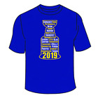 St. Louis Blues Championship T-Shirt. Stanley Cup Champs Saint 2019 Gift NHL Tee $18.0 USD on eBay