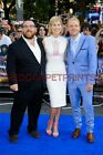 Nick Frost, Rosamund PIke & Simon Pegg Poster Picture Photo Print