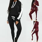 Women's Tracksuit Hooded Sets Sweatsuits Casual Jogging Long Sports Suit GIFT