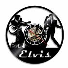 Elvis Wall Clock Modern Music Clocks with 7 Colors LED Wall Watch Silent 12''