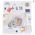 40Pcs-pack Happy Life Decor Diary DIY Stickers Stationery Planner Stickers NJ