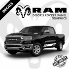 Dodge Ram 1500 2500 3500 Lower Rocker Panel Vinyl Truck Decals Stripes |32