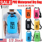 Floating Dry Bag Waterproof 2l/3l/5l/10l/15l/20l Top Sack Keeps Gear Swimming