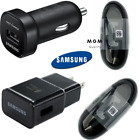 OEM Samsung Fast USB Car Charger For Galaxy S9 S9+ S8/S8 Plus + USB Type-C Cable