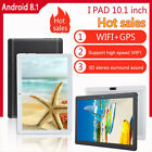 New 10.1 in Android 8.1 Quad-Core Tablet PC 16GB WIFI Bluetooth HD IPS Screen LJ