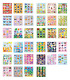 HENBRANDT Kids Birthday Party Themed Sticker Sheets Loot Bag Fillers Prizes