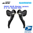 Купить SHIMANO 105 ST 5800 2x11 Speed Shifter Brake Lever Set L+R Road Bike Black