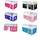 Tent for Midsleeper Cabin Bunk Bed Blue or Pink Bedroom  Storage - New