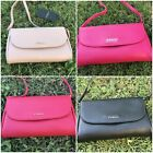 NWT FURLA Lilli Small Crossbody Leather Bag Purse Clutch Black/Pink/Red/Ballet image