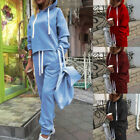 Women's Outfits Pullover Sweatsuits Long Sleeve Sweatshirt + Pants Tracksuit Set