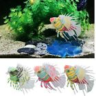 Vivid Optional Aquarium Fish Tank Artificial Fake Lion Fish Ornaments Decor