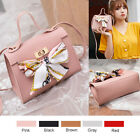 Small Women Shoulder Bag PU Leather Envelope Crossbody Messenger Handbag Purse image