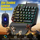 39keys One Hand Mechanical Gaming Keyboard And Mouse Mini Game Keypad For Lol Au