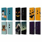 OFFICIAL PLDESIGN HALLOWEEN LEATHER BOOK WALLET CASE FOR SONY PHONES 1