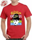 CHARLIE CHAPLIN CITY LIGHTS T SHIRT MEN'S TEE MANY COLORS FAN GIFT FROM US