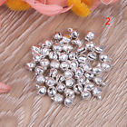 50Pc Small vintage bronze color alloy jingle bell pendant charm jewelry~findinRS