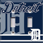 Baseball Detroit Tigers Light Switch Plate Cover ~ Choose Your Cover ~ on Ebay
