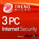 Trend Micro Internet Security 2020 1, 3 PC 1, 2, 3 Year